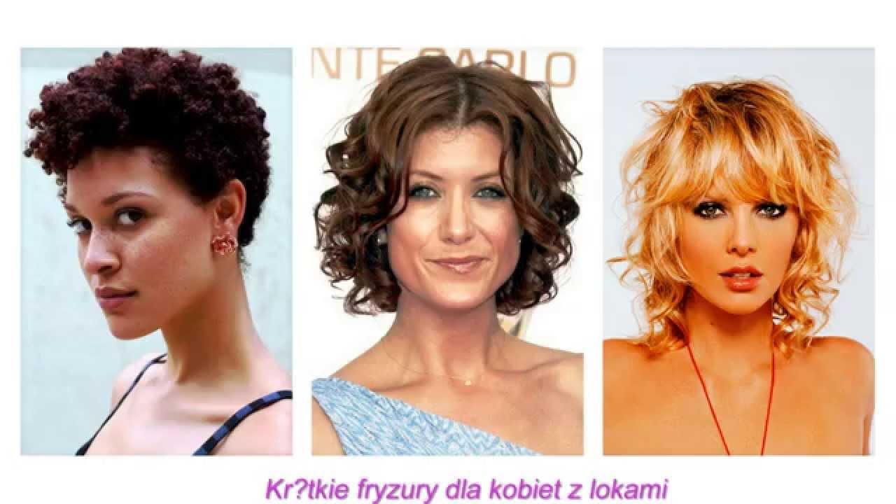 Krótkie Fryzury Dla Kobiet Z Lokami