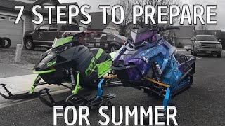 7 tips to Summerize Your Snowmobile