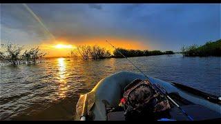 Ночная рыбалка на щуку Распаковка посылки от Владимира