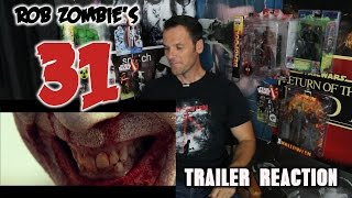 Rob Zombie's 31 Trailer Reaction/Review