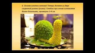 Как сделать игрушку из живых цветов - обучение