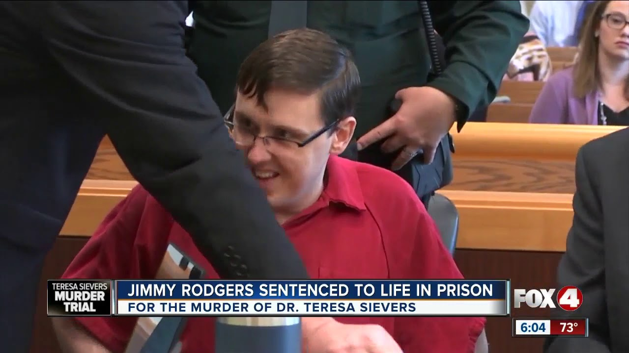 Jimmy Rodgers is sentenced to life in prison