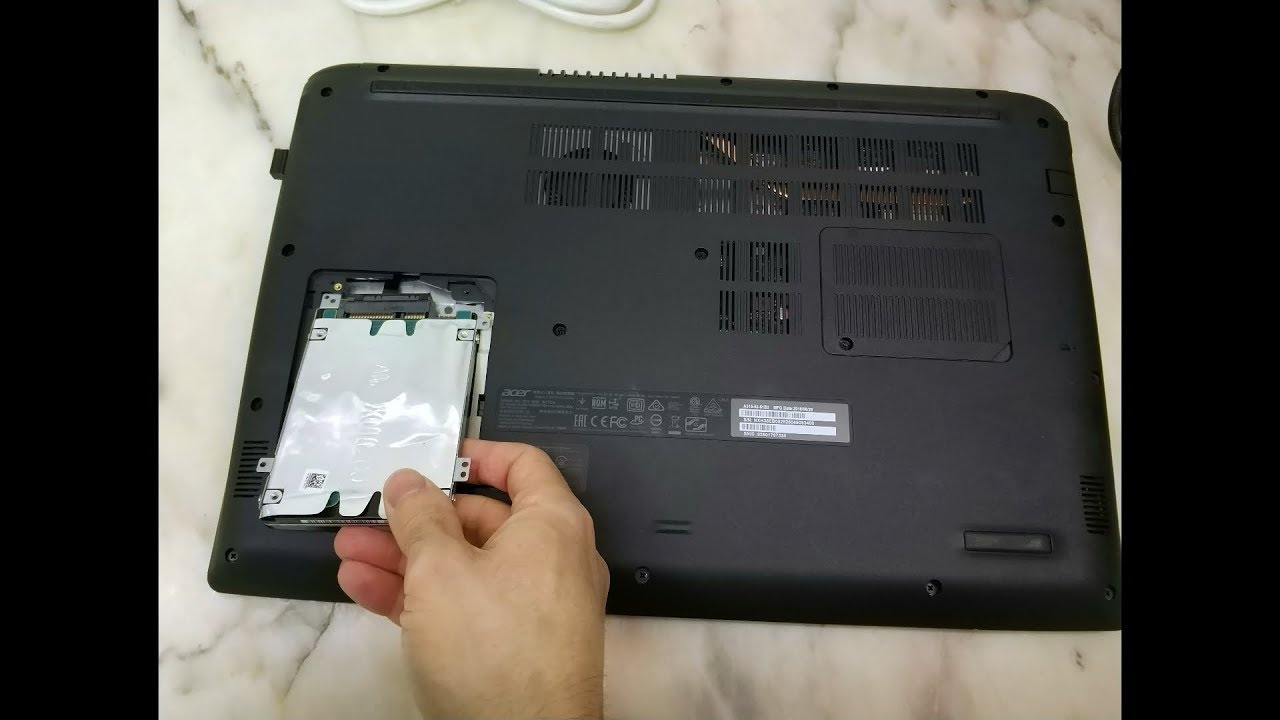 Acer Aspire 3 A315-53 - HDD upgrade to SSD - Toshiba