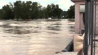 Flooding On Th' White River At Batesville Arkansas 4-27-2011
