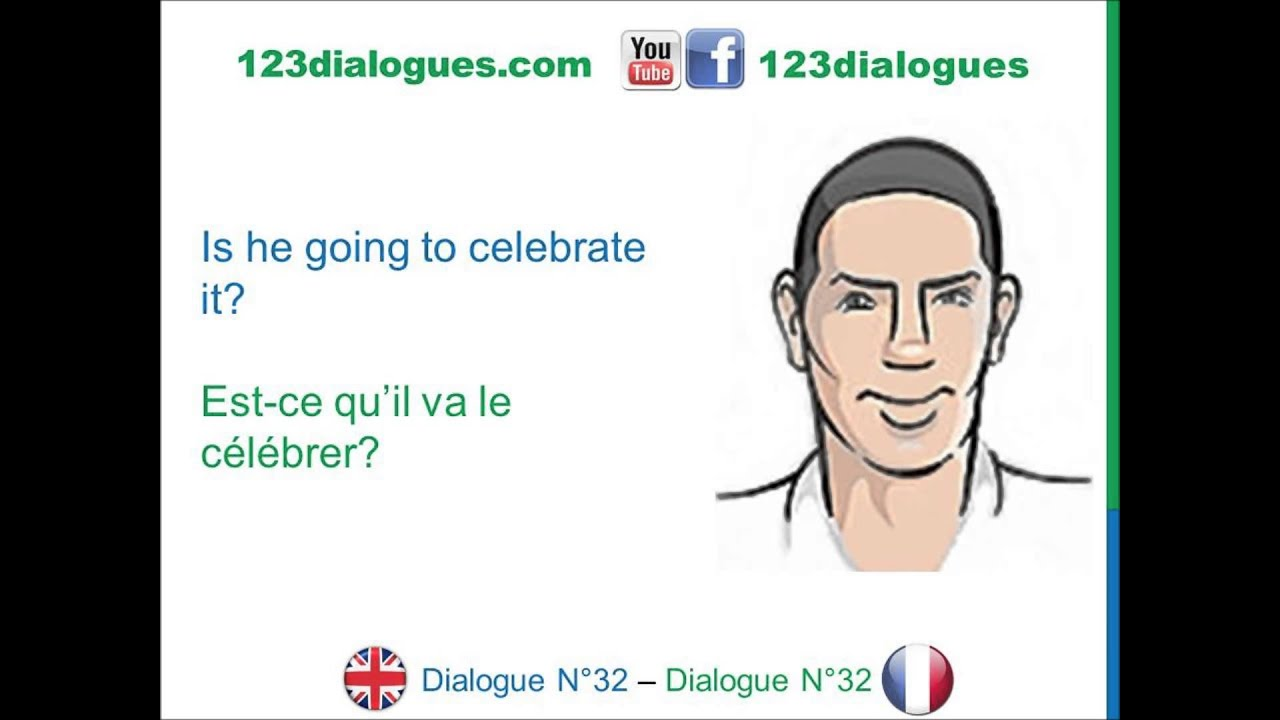 Dialogue 32 - English French Anglais Français - Birthday party - Fête d'anniversaire - YouTube