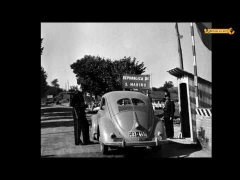 San Marino - Monte Titano - Besuch im Jahre 1950