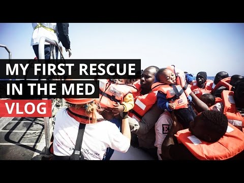 VLOG  Ep 01  Rescuing refugees in the Mediterranean
