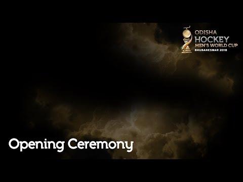 Odisha Men's Hockey World Cup 2018 – Opening Ceremony   LIVESTREAM Mp3