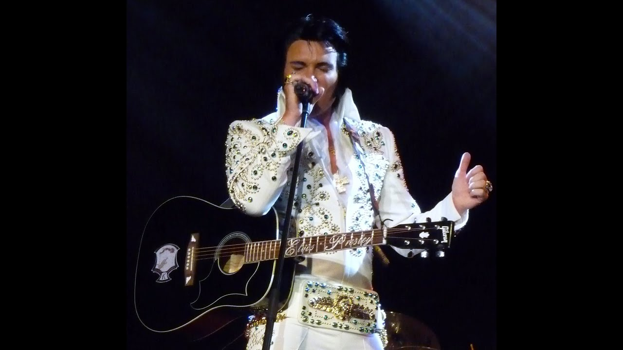 Tribute To Elvis Before The Next Teardrop Falls Made By Huggie