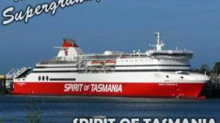 Spirit of Tasmania Ferry, Bass Strait between Tasmania & Melbourne, Mary the Supergranny