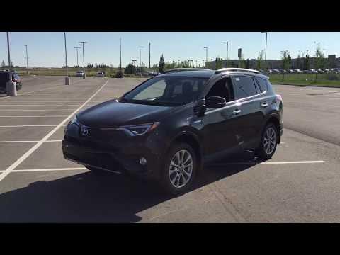 2018 Toyota RAV4 Limited Hybrid Review