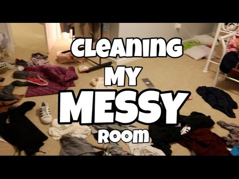 Cleaning My Messy Room Youtube