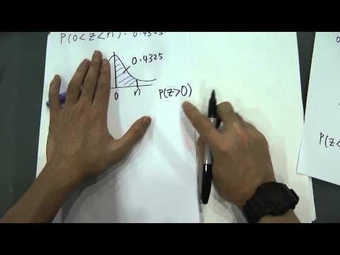SPM - Form 5 - Probability Distribution -Basic of Standard Normal Distribution Part-2