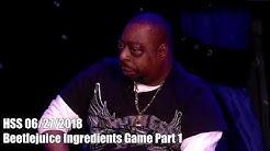 Beetlejuice Ingredients Game Part 1A