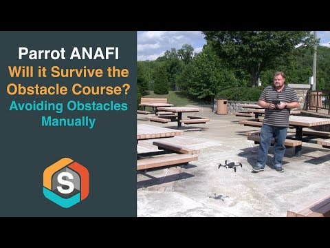 Parrot ANAFI - Will it survive the Obstacle Course