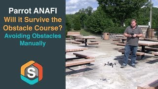 Parrot ANAFI - Will it survive the Obstacle Course?