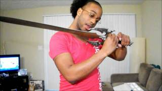 #41 - Cool New Evil-Looking Sword:  The Sword of Darkness!!!!!