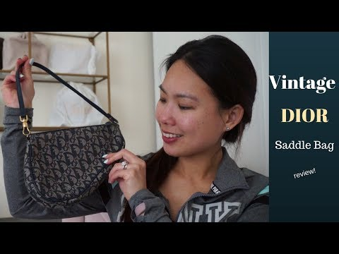 9664a82dccc81e Bag Unboxing | Dior Saddle and Trotter by Pamella P