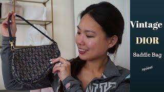 Dior vintage saddle bag review
