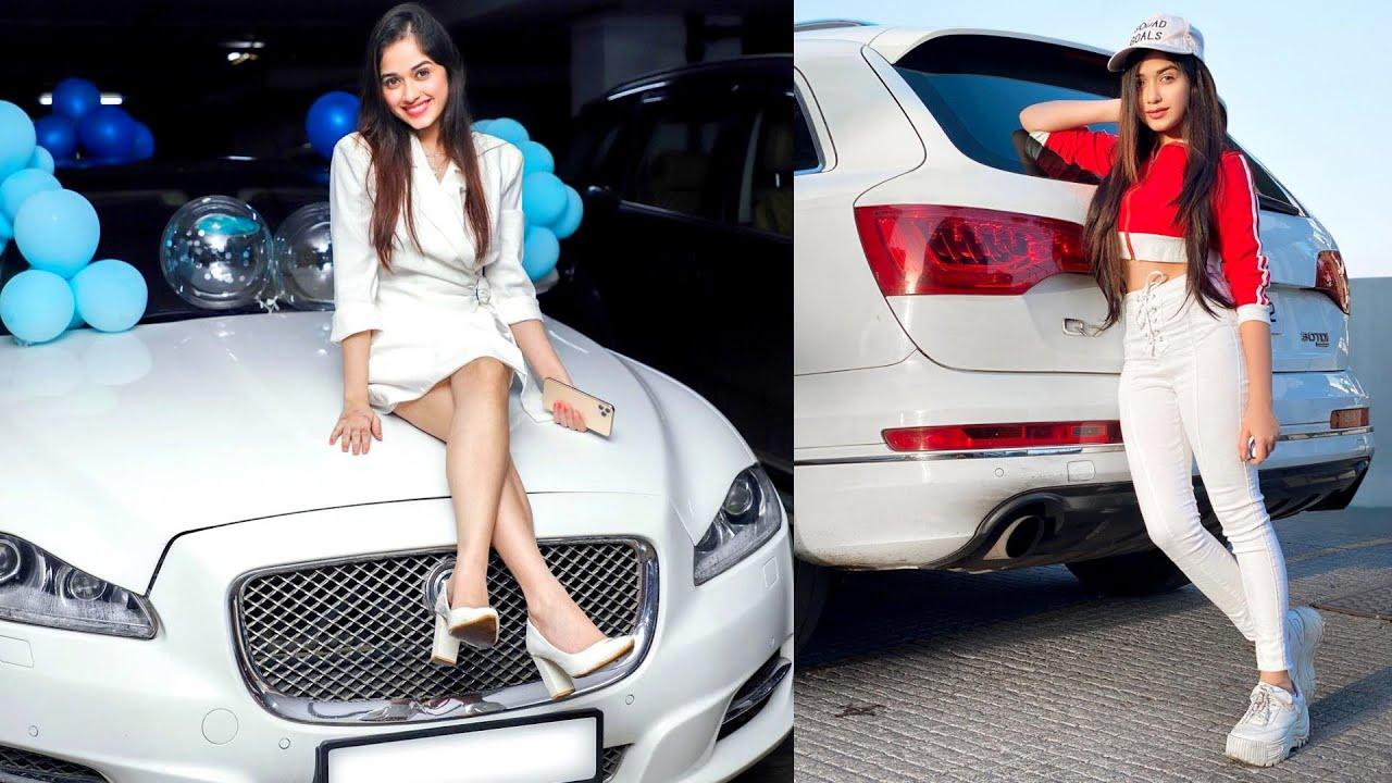Jannat Zubair Car Collection - Jaguar, Audi   Tik Toker