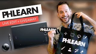 PHLEARN is going LIVE! | Pen Tablet Giveaway | April 5th