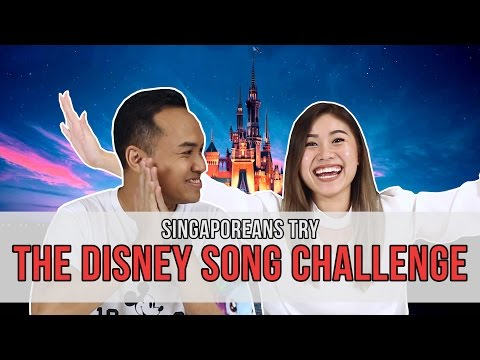 Singaporeans Try: The Disney Song Challenge