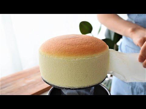 Jiggly Japanese Souffle Cheesecake - B ng Lan Ph Mai Nh t B n