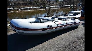 Испытание лодки ALTAIR HD 425