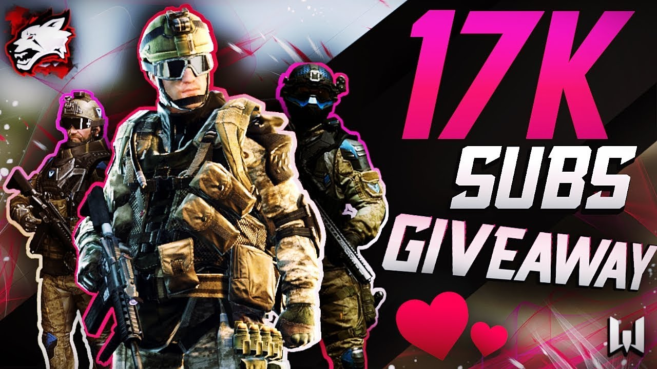 17.000 SUBSCRIBERS WARFACE GIVEAWAY - THANKS FOR 17K !!!