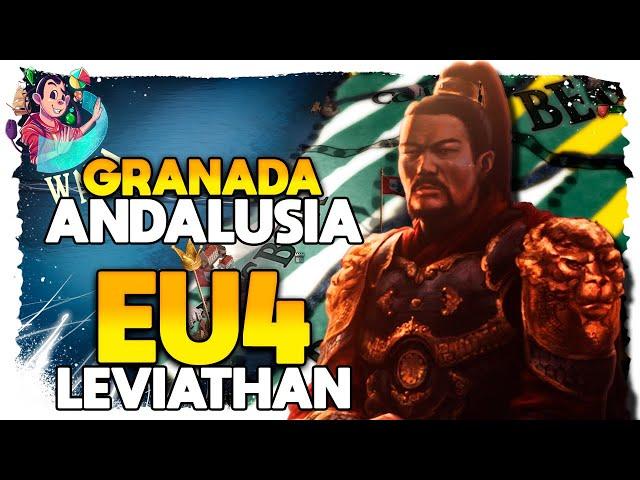 EU4 Leviathan - Granada #08 - A conquista de LISBOA- Gameplay PT BR