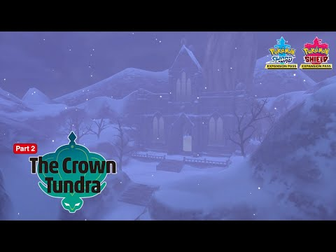 Explore the Crown Tundra with the #PokemonSwordShield Expansion Pass!