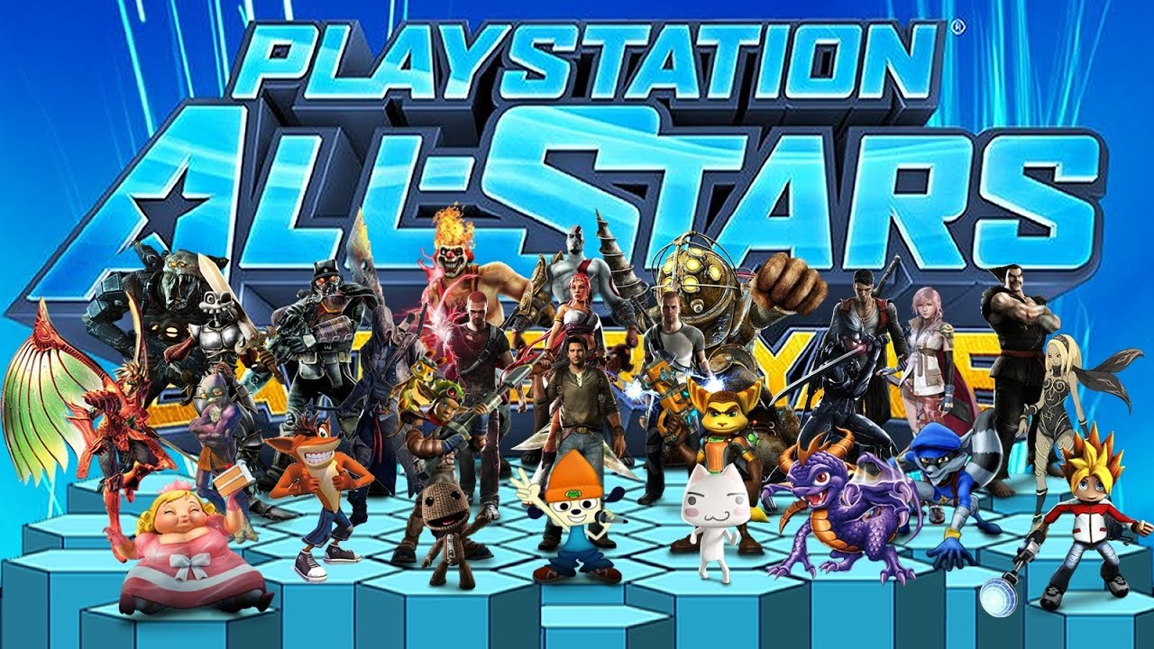 PlayStation All-Stars Battle Royale - All Characters Level