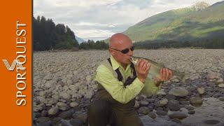 Salmon Fishing at Kalum River Lodge Canada