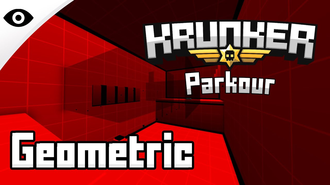 Bhop_Geometric - Map Tutorial (Krunker.io)