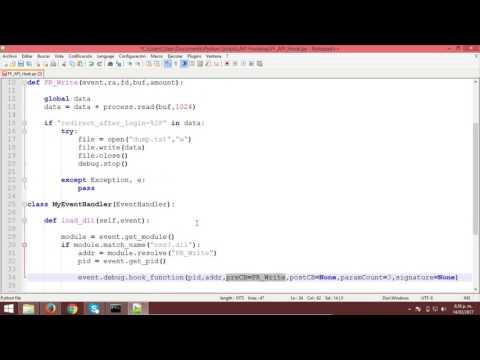 API Hooking con Python
