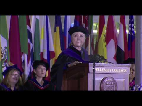 Clinton speaks at Wellesley College Commencement (full speech)
