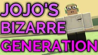 JOJO'S BIZARRE GENERATION! | ROBLOX