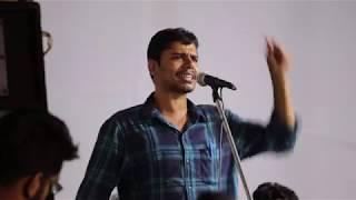 Question Answer Round -  Jayant Kumar Jigyasu in Presidential debate, JNUSU Election  (2018)