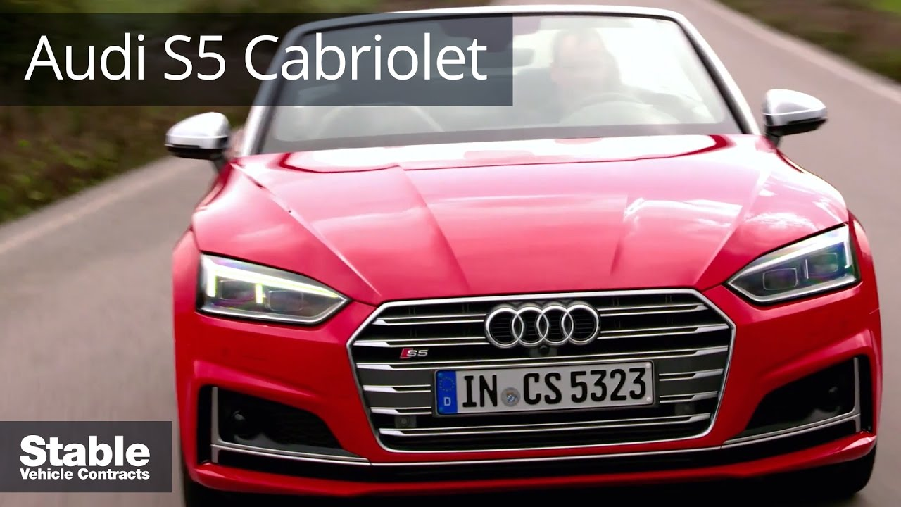 2017 audi s5 cabriolet in misano red footage stable. Black Bedroom Furniture Sets. Home Design Ideas