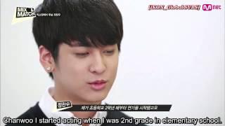 Ks9 - Ikon Jin Hyeong And Chan Woo Interview @ Mix & Match Ep01  140911