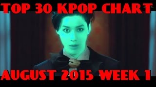 Video TOP 30 KPOP CHART AUGUST 2015 WEEK 1 (9 NEW SONGS) download MP3, 3GP, MP4, WEBM, AVI, FLV Januari 2018