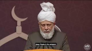 Auszug aus Rede Seiner Heiligkeit | Kalif in Deutschland (2)