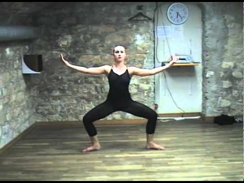 Julie HEINEN GRAHAM GRAHAM Standing Side contractions from deep second