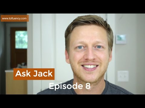 How to Learn English Tenses, Vowel Length, and Speak to vs with (Ask Jack #8)
