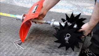 BASEH Mini Çapa/Çapalama Aparatı Montaj / Mini Tiller Apparatus Unboxing - Setup