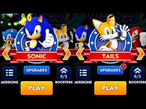 Sonic Dash SONIC VS TAILS Android IPad IOS Gameplay HD