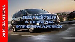 2019 KIA SEDONA SXL Refresh Face with New Exterior Interior Review