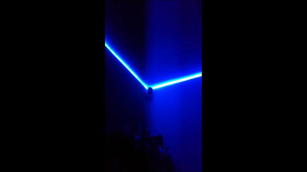 Mi cuarto con luces led ritmicas youtube - Luces led para cuartos ...