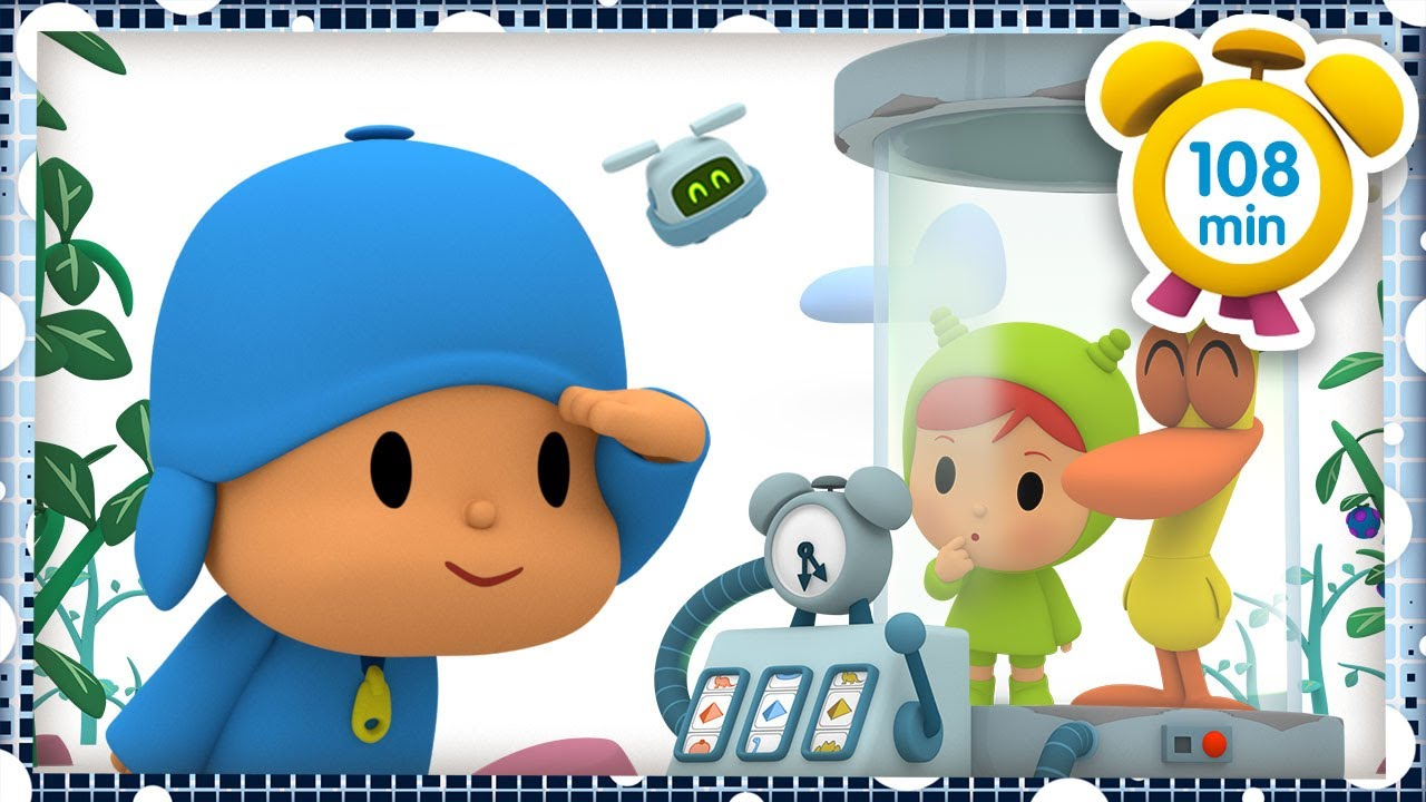 🚀 POCOYO in ENGLISH - Crazy trips [ 108 minutes ] | Full Episodes | VIDEOS and CARTOONS for KIDS