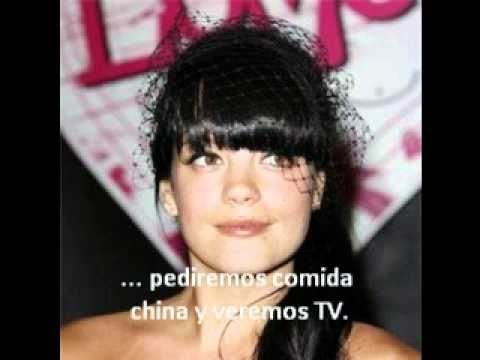 Lily Allen - Chinese (traducida)